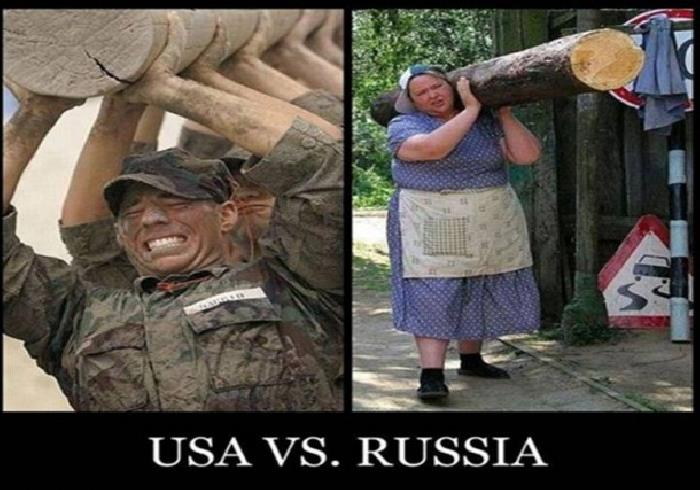 русские против американцев