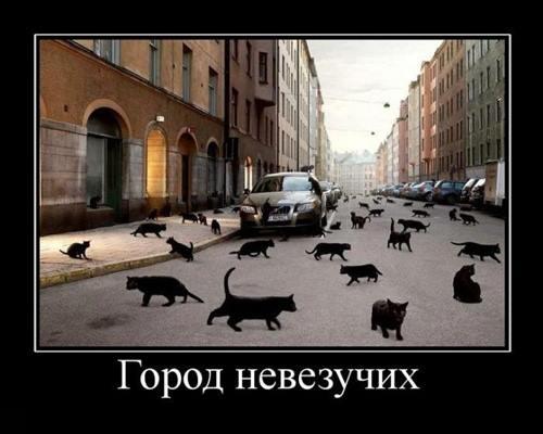 город невезучих
