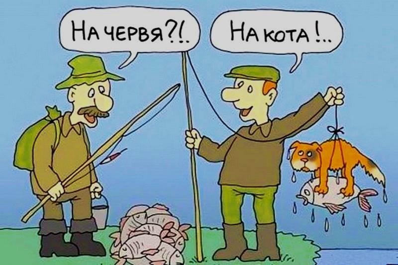 анекдоты про рыбалку и рыбаков